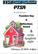 Founders Day, Reflection Awards and AVID Spaghetti Night