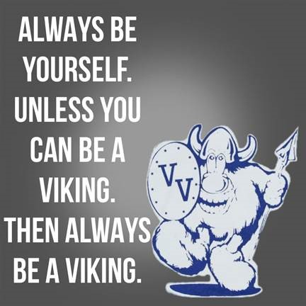 Valley View Slogan- Be A Viking